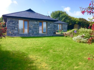 front of house from garden gate