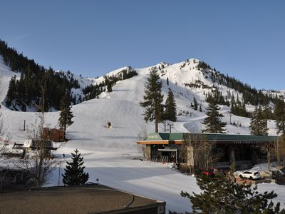 Photo for Ski in/Ski Out, 1 Bedroom Mountain View Condo at the Village at Squaw Valley.
