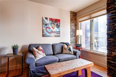 Sleeper sofa great views of Main Street - Park City Lodging-Galleria 308