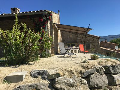 Photo for House in Drôme Provençale with superb views of the Ennuyé valley