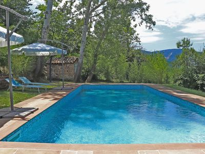 Photo for CASA VERDE - Private villa in San Ginesio, pool, wide garden, Le Marche