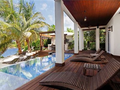 Photo for 5BR, Canal View, Private Pool, Deckhouse 1 at The Ritz-Carlton, Grand Cayman