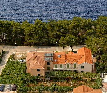 Photo for Apartments just steps from sea with beautiful  sea view, in quiet part of town