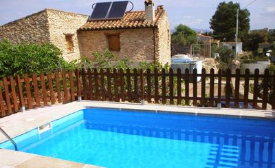 Photo for Nice chalet with swimming-pool