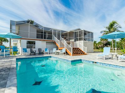 Photo for Family Tides: Beach Pool and Dock..This 4 Bedroom beach house has it all!