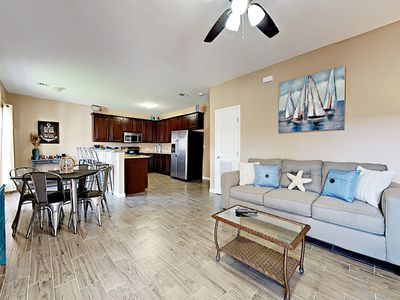 Photo for Freshly Renovated 2BR Condo w/ Patio, Pool—Walk to Beach, Dining, Nightlife