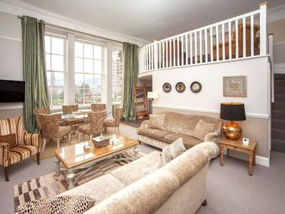 Photo for An exceptional 2 double bedroom beautifully restored late-Georgian apt in the heart of the city