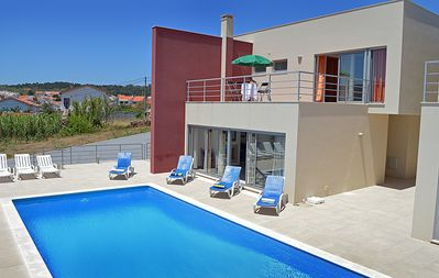 Photo for Stunning, modern, air-conditioned villa with pool and FREE WiFi