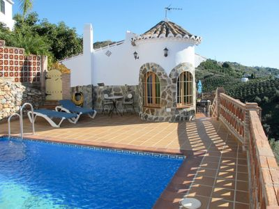 Photo for Vacation home TRES PALMERAS (FRG131) in Frigiliana - 4 persons, 2 bedrooms