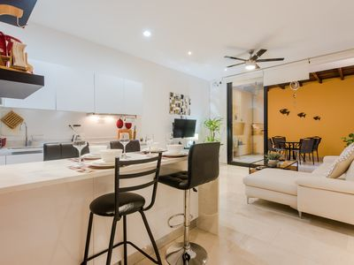 Photo for LUXURY M 32 STEPS FROM THE 5TH & MAMITAS BEACH