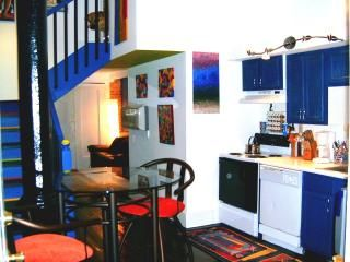Fully equipped kitchen, but a plethora of fabulous restaurants/cafes to walk to!