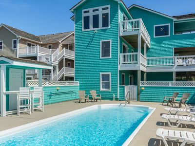 Photo for Per-SPECHT-tive: Oceanside, private pool & hot tub, community pool & tennis courts.
