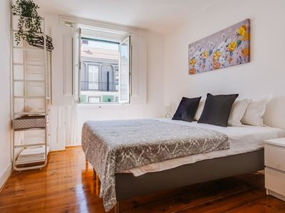 Photo for 3 Bedroom Apartment in Baixa with River and Praça da Figueira View