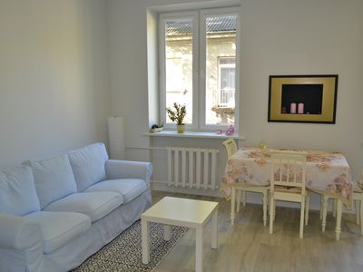 Photo for A cozy apartment located in the quite area near the city center.