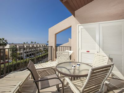 Photo for Ocean view 2bd/2ba loft condo in bldg 8 at Kamaole Sands, sleeps 6. 8-411