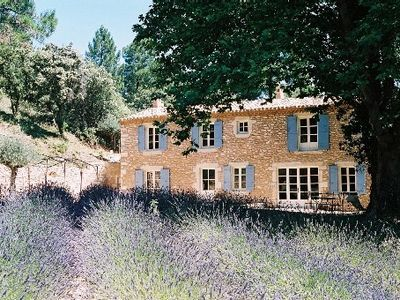 Photo for Traditional Provencal farmhouse with pool in exceptional site