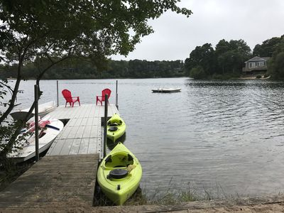 Photo for Waterfront Fun! Swimming Boating Fishing Biking Relax @ Freshwater Bucks Pond!