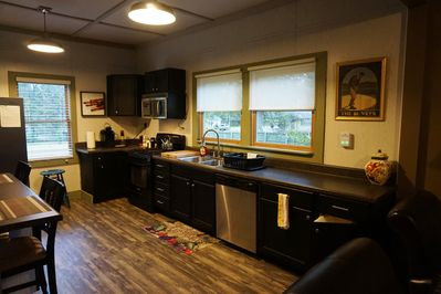 Eat in kitchen with lots of natural light