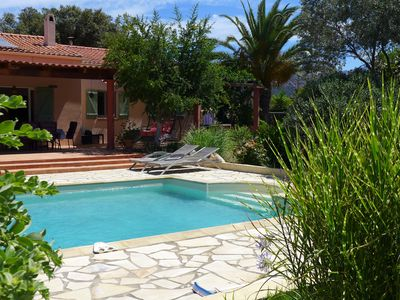 Photo for Villa, pool, quiet in the Corsican maquis, fully equipped for 6 people.