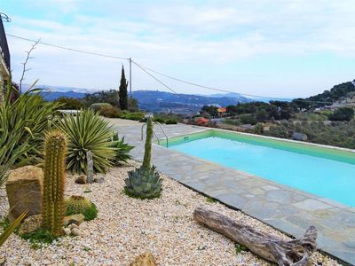 Photo for 3 bedroom Villa, sleeps 6 in Caramagna Ligure with Pool and WiFi
