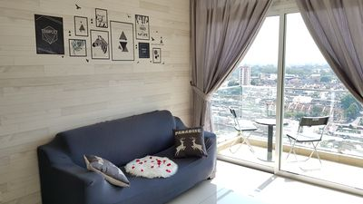 Photo for Stylish Cozy Suite@KSL #City View| WIFI |Atari Game #Right Top KSL Shopping Mall