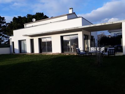 Photo for Charming new house with garden and sea views