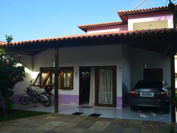 Great House in Cond. Closed with pool and private BBQ 200 meters from the beach