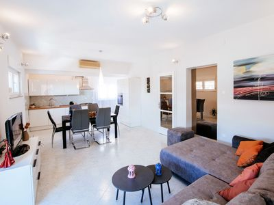Photo for Brend new spacious apartment for 7 persons, 300m far from the Old town of Zadar