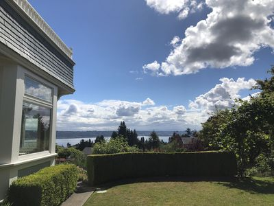 Photo for Perfect Getaway overlooking the Puget Sound, Close to Ruston Point and UPS