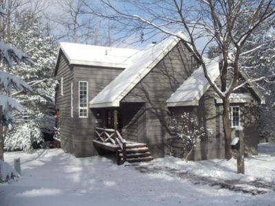 Photo for On Jack Frost, Walk to the Slopes or Summer hideaway w/ pool/beach access nearby