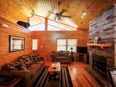 Photo for Beautiful View of Mount LeConte - Hot Tub - WiFi - Game Room - Fireplace