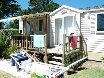 Photo for Camping Bellevue **** - Mobile Home 4 Rooms 7 People