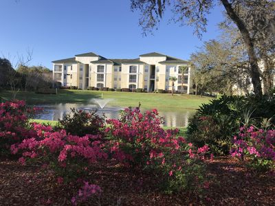 Photo for Luxury condo near Disney , Universal Studios, all parks free WiFi and pool