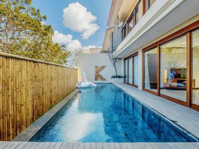 Photo for 2 Bedroom Secluded Villa with Ocean View in Nusa Dua, Car Included
