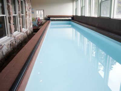Photo for PRIVATE INDOOR 44ft HEATED LAP POOL w/ Perfect  Pikes Peak Views! Video Tour