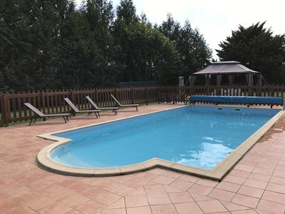 """Photo for Cottage with heated pool - """"Le Chalet"""" - 2 people"""