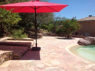 Photo for Family holiday in beautiful property 2000m2 and spectacular view