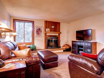 Photo for 20% Off Spring! Ideal Breck Location...Steps to Main Street, Wi-Fi, Parking
