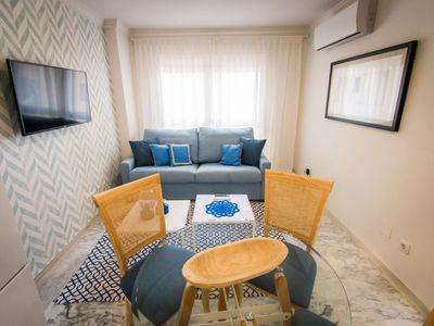 Photo for Reding Malagueta apartment in La Malagueta with WiFi, air conditioning & lift.