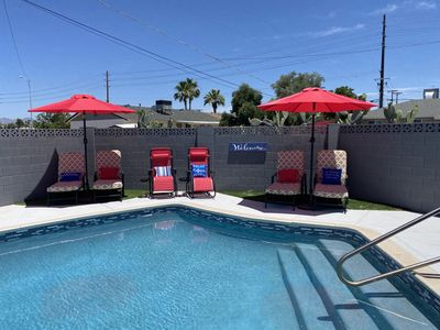 Photo for Old Town Scottsdale Family Entertainment heated Pool, Bocce Ball,  Putting Green