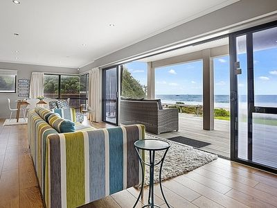 Photo for Taku Tai Moana - Whiritoa Beachfront Holiday Home