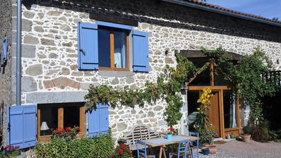 Photo for 16th Century Farmhouse surrounded by the beautiful Perigord National Park