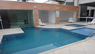 Photo for CABO FRIO, PROMOTION HOLIDAY, 02 ROOMS OF GARAGE WITH AIR CONDITIONING.