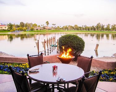 Photo for Golf Resort Penthouse With Lake View And Jacuzzi