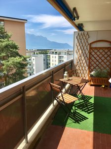 Photo for nr. 71Modern and spacious studio with balcony and lake view