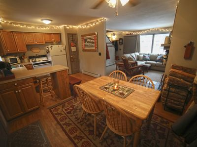 Photo for Clean, Quiet, 2 BR END UNIT Townhouse in Killington - Just minutes to slopes