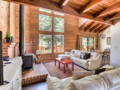 Photo for Unique and Private Tahoe Home Close to Donner Activities - Family Friendly