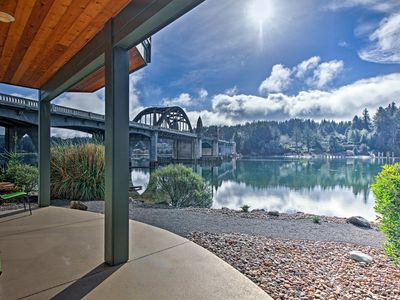 Photo for Charming Riverfront Condo in Old Town Florence!