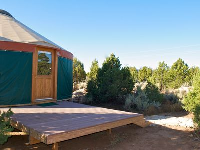 Photo for Awesome Yurt In Southeast Utah Near Canyonlands