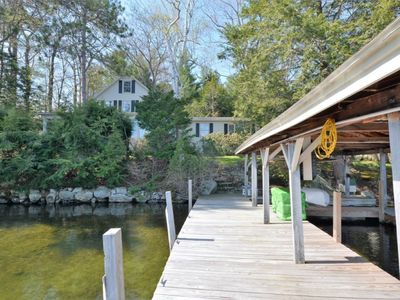 Photo for Main and Guest Homes Offer Space for 12 with Beautiful Lake Views and Access